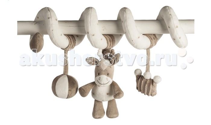 Дуги для колясок и автокресел Nattou Toy spiral Max, Noa & Tom Лошадка, Дуги для колясок и автокресел - артикул:169160