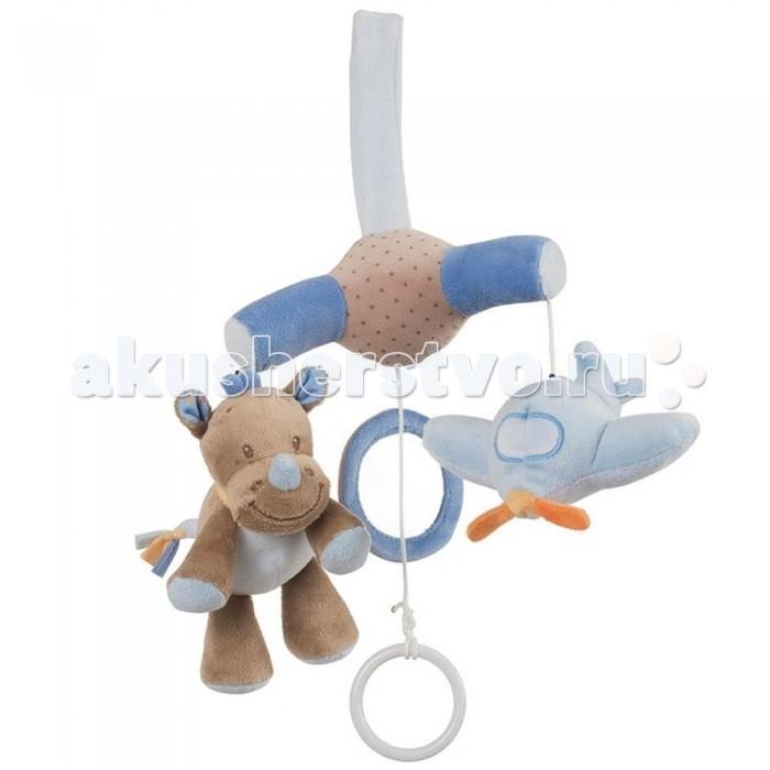 Мобиль Nattou Arthur &amp; Louis Зебра и НосорогArthur &amp; Louis Зебра и НосорогNattou Arthur & Louis Зебра и Носорог  Основные характеристики:   мини-мобиль для малышей;  легко крепится к шезлонгу или автокреслу;  забавные мягкие игрушки, очень приятные на ощупь;  приятная мелодия La-Le-Lu поможет малышу поскорее уснуть;  способствует развитию мелкой моторики и зрительных рефлексов.   Вес с упаковкой (брутто): 0,125 кг<br>