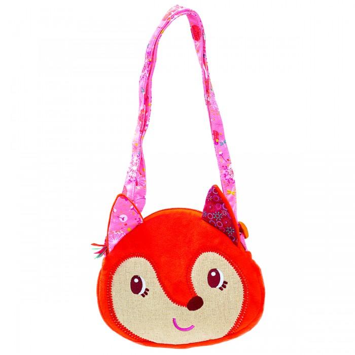 Сумки для детей Lilliputiens Лиса Алиса мягкая сумочка через плечо, Сумки для детей - артикул:170332