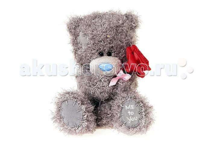 Мягкая игрушка Me to You Мишка Тедди с розой 18 см G01W3816
