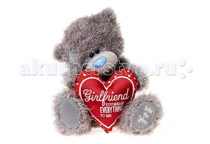 Мягкая игрушка Me to You Мишка Тедди с сердцем 25 см G01W3820Мишка Тедди с сердцем 25 см G01W3820Me to You Мишка Тедди с сердцем 25 см G01W3820 - это восхитительная игрушка, которую можно подарить не только ребенку, но и своей второй половинке, которой, несомненно, понравится этот очаровательный малыш, держащий в своих мягких лапках признание в любви от чистого сердца. Игрушка изготовлена из приятных на ощупь материалов и радует глаз качеством исполнения.  Размер игрушки: 25 см<br>