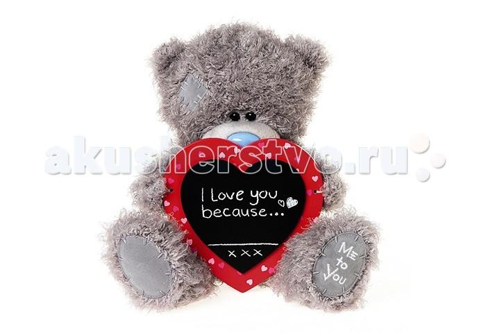 Мягкая игрушка Me to You Мишка Тедди с сердцем 25 см G01W3828Мишка Тедди с сердцем 25 см G01W3828Me to You Мишка Тедди с сердцем 25 см G01W3828 - это восхитительная игрушка, которую можно подарить не только ребенку, но и своей второй половинке, которой, несомненно, понравится этот очаровательный малыш, держащий в своих мягких лапках признание в любви от чистого сердца. Игрушка изготовлена из приятных на ощупь материалов и радует глаз качеством исполнения.  Размер игрушки: 25 см<br>