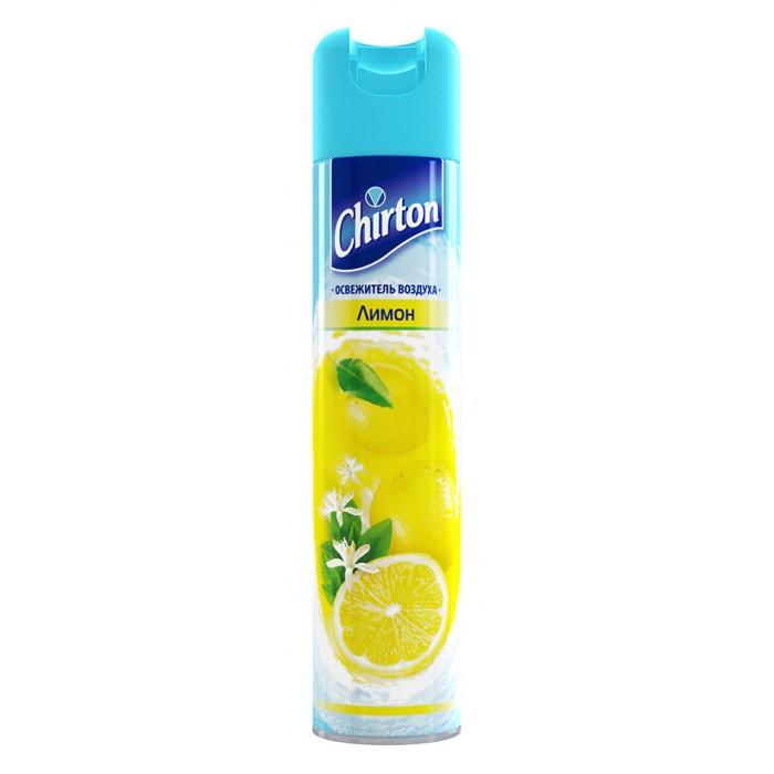 Бытовая химия Chirton Освежитель воздуха Лимон 300 мл освежитель воздуха антитабак chirton 300 мл