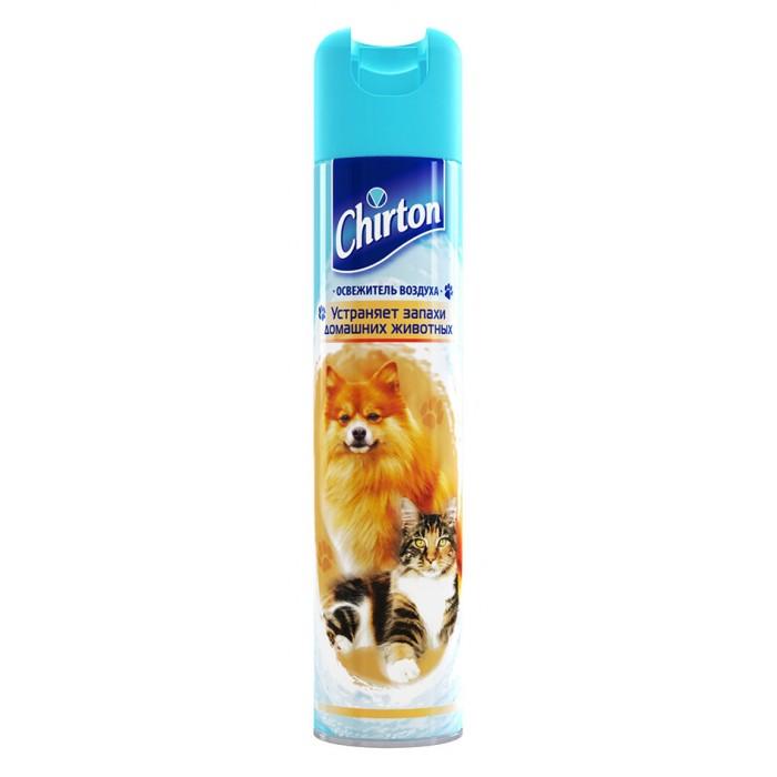 Бытовая химия Chirton Освежитель воздуха От запахов домашних животных 300 мл лайна мс спрей для удаления меток и запахов домаш животных пихта 0 75л