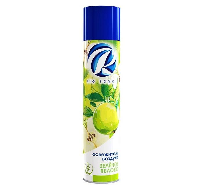 Бытовая химия Chirton Освежитель воздуха Rio Зеленое яблоко 300 мл бытовая химия chirton антистатик спрей 200 мл