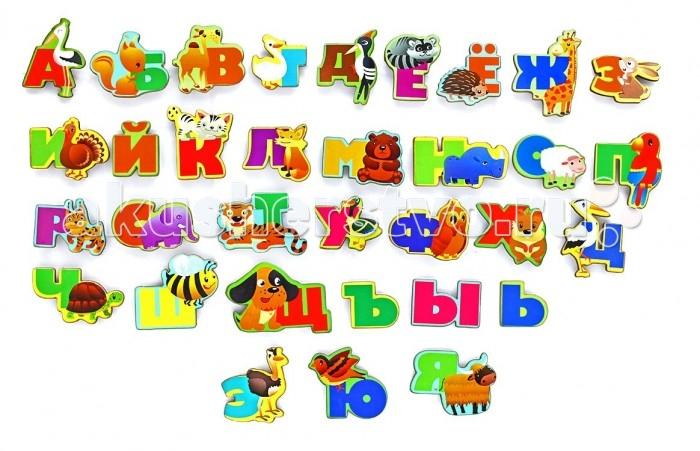 Деревянные игрушки Фабрика Мастер игрушек Алфавит  русский Животный мир disney игра алфавит учим буквы и цифры принцессы