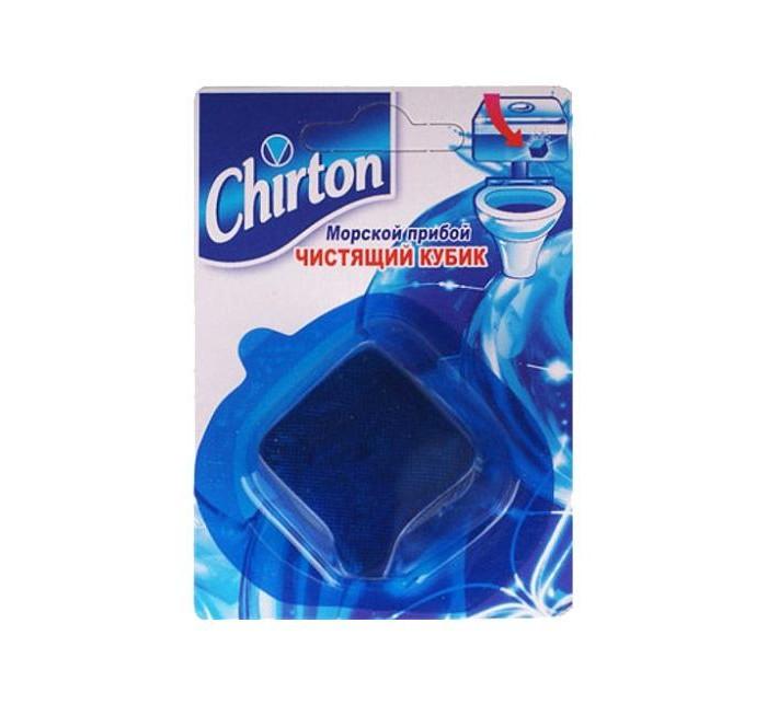 Бытовая химия Chirton Чистящий кубик для унитаза Морской Прибой chirton чистящие таблетки для унитаза морской бриз 50г 3