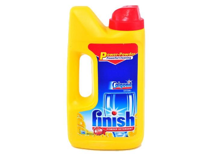 все цены на Бытовая химия Calgon Calgonit finish Лимон Порошок для посудомоечных машин 1 кг онлайн