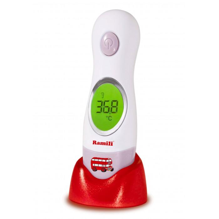 Термометр Ramili Инфракрасный ушной и лобный 4 в 1 ET3030