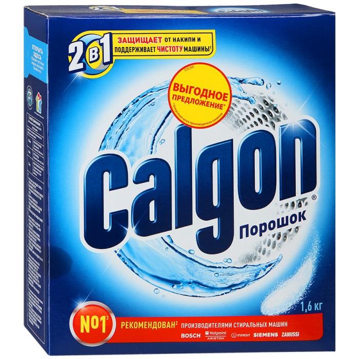 Бытовая химия Calgon Средство для смягчения воды в стиральных машинах 1.6 кг бытовая химия