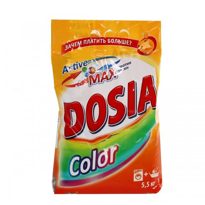 Бытовая химия Dosia Стиральный порошок Color Аромат свежести 5,5 кг стиральный порошок колор пемос 3 5 кг