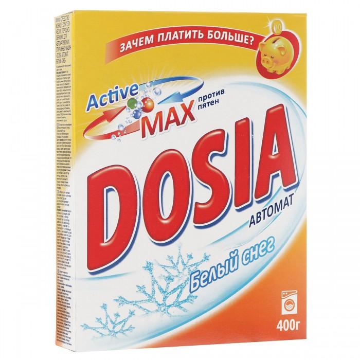 Бытовая химия Dosia Стиральный порошок Active 3 Белый снег Автомат 400 г рб dosia стир порошок авт белый снег 1 8кг 953037