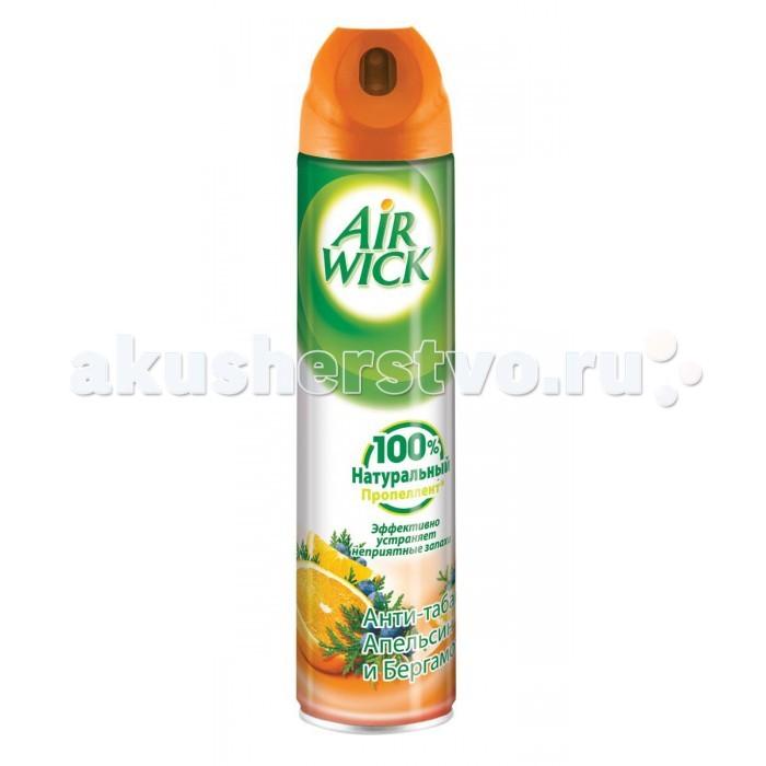 Бытовая химия Air Wick Освежитель воздуха Анти-табак Апельсин и бергамот 240 мл освежитель воздуха air wick 250мл