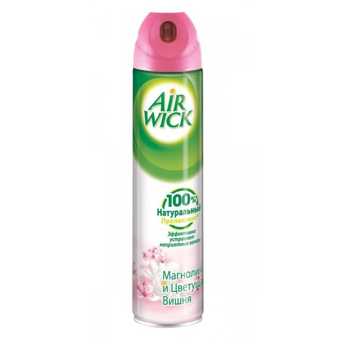 Бытовая химия Air Wick Освежитель воздуха Магнолия и цветущая вишня 240 мл освежитель воздуха air wick 250мл