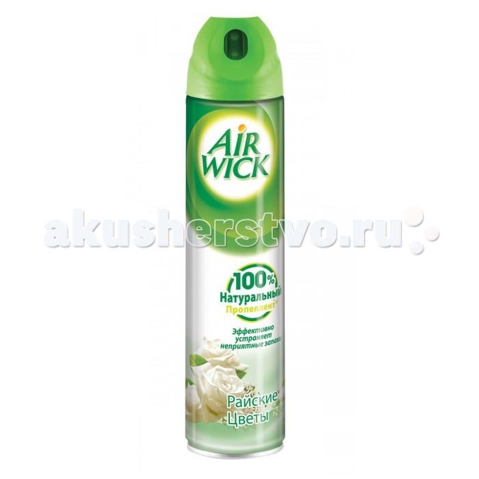 Бытовая химия Air Wick Освежитель воздуха Райские цветы 240 мл бытовая химия air wick сменный флакон к освежителю воздуха freshmatic лимон и женьшень 250 мл