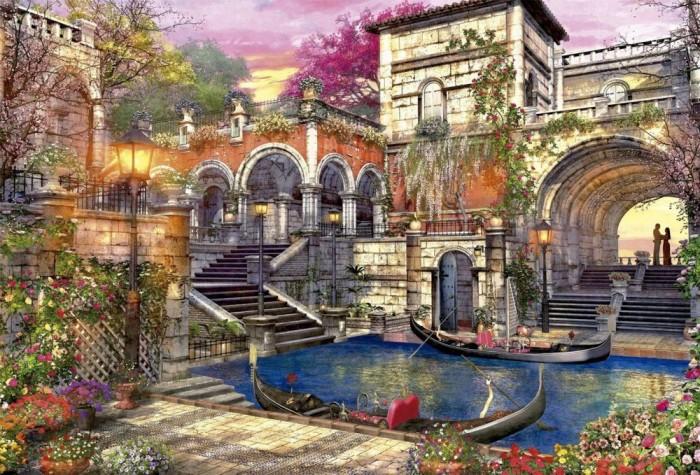 Пазлы Educa Пазл Венецианский роман 3000 элементов пазлы educa пазл амстердам 3000 элементов