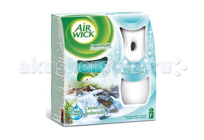 Бытовая химия Air Wick Автоматический освежитель воздуха Свежесть водопада 250 мл бытовая химия air wick сменный флакон к освежителю воздуха freshmatic лимон и женьшень 250 мл