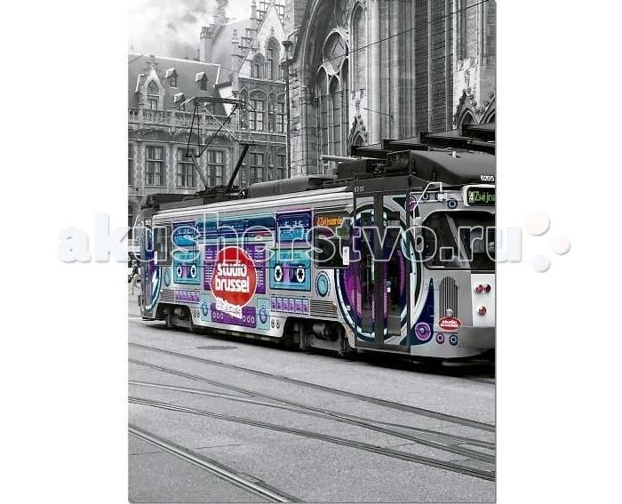 Пазлы Educa Пазл Трамвай в Генте Бельгия 500 элементов educa пазл пекарня