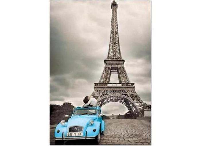 Пазлы Educa Пазл Эйфелева башня Париж 500 элементов пазлы magic pazle объемный 3d пазл эйфелева башня 78x38x35 см