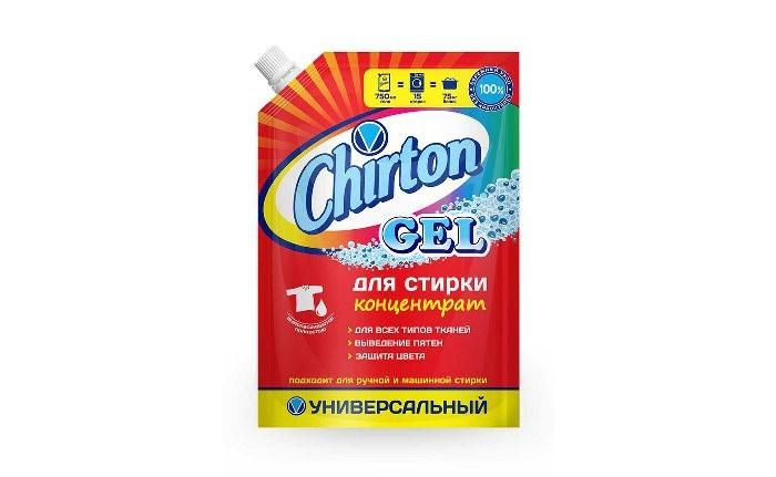 Бытовая химия Chirton Гель для стирки Универсальный 750 мл бытовая химия xaax ополаскиватель для посудомоечной машины 500 мл