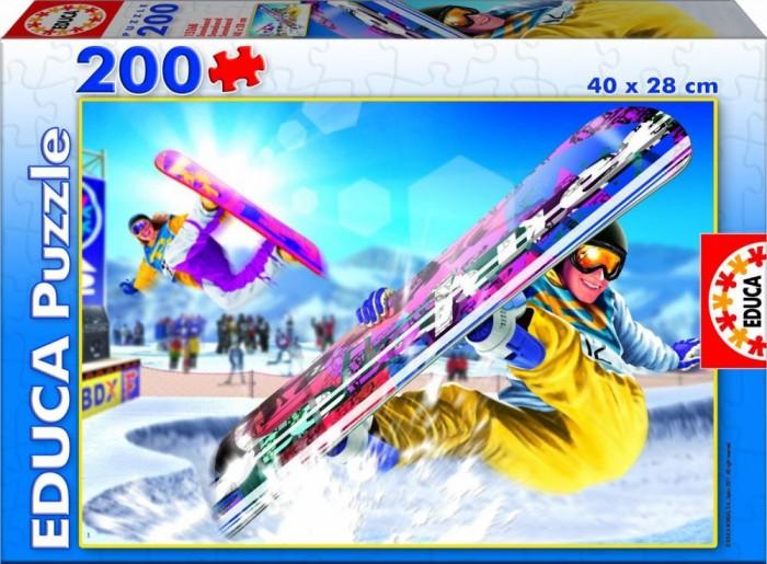 Пазлы Educa Пазл Сноубординг 200 элементов пазлы educa пазл леди в голубом кетто 1000 элементов