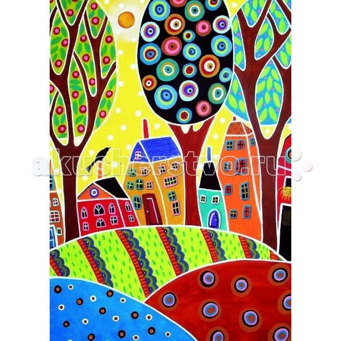 Пазлы Educa Пазл Пейзаж с домиками Карла Жерар 500 элементов пазлы educa пазл эйфелева башня париж 500 элементов