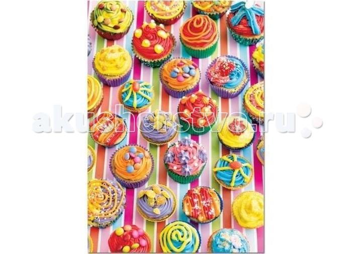 Пазлы Educa Пазл Разноцветные кексы 500 элементов пазлы educa пазл эйфелева башня париж 500 элементов