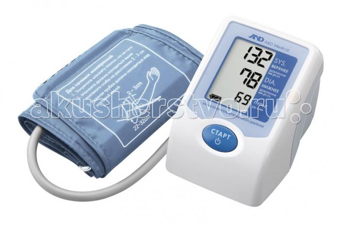 A&amp;D Тонометр автоматический UA-668ACТонометр автоматический UA-668ACA&D Тонометр UA-668AC автоматический.  Особенности: Тонометр предназначен для измерения и контроля артериального кровяного давления и пульса в плечевой артерии у взрослых.  При помощи автоматического прибора для измерения давления крови вы сможете быстро и без посторонней помощи в бытовых условиях провести измерение давления и пульса и сохранить данные, а так же вывести ранее сохраненные данные и средние значения.  Основной электронный блок тонометра дополняет большой дисплей с тремя крупными строчками, отображающими цифры диастолического, систолического давления, пульса.  Дополнительно на мониторе имеется индикация уровня зарядки, пульта. Также на дисплее отображаются сообщения о неплотно зафиксированной манжете, нестабильном давлении из-за движения руки.  Управление тонометром осуществляется одной кнопкой. После фиксации манжеты следует соединить ее с электронным блоком соединительной трубкой, подсоединить адаптер, включить прибор в сеть, нажать на старт.  Манжета самостоятельно наполнится воздухом и после замеров на мониторе отобразится результат. После отключения воздух удалится из манжеты самостоятельно.  Тонометр работает от 4 батареек типа АА (R6P или LR6) (входят в комплект) или от сетевого адаптера (входит в комплект). Манжета SlimFit 22-32 см Большой трехстрочный дисплей Сетевой адаптер в комплекте Компактный размер<br>
