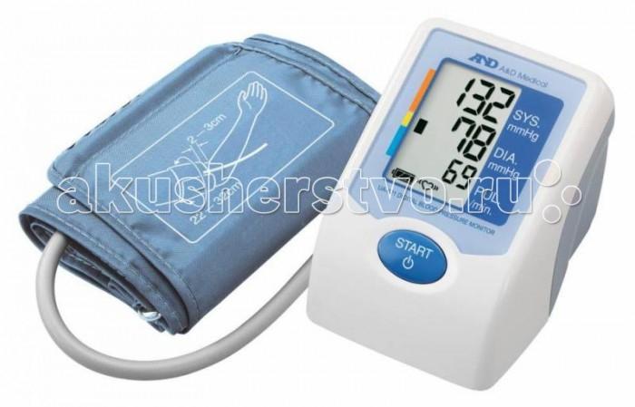 A&amp;D Тонометр автоматический UA-670ACТонометр автоматический UA-670ACA&D Тонометр UA-670AC автоматический.  Особенности: Тонометр предназначен для измерения и контроля артериального кровяного давления и пульса в плечевой артерии у взрослых.  При помощи автоматического прибора для измерения давления крови вы сможете быстро и без посторонней помощи в бытовых условиях провести измерение давления и пульса и сохранить данные, а так же вывести ранее сохраненные данные и средние значения.  Манжета SlimFit 22-32 см Индикатор аритмии Шкала ВОЗ Объем памяти: 30 измерений Большой трехстрочный дисплей Сетевой адаптер в комплекте Компактный размер<br>