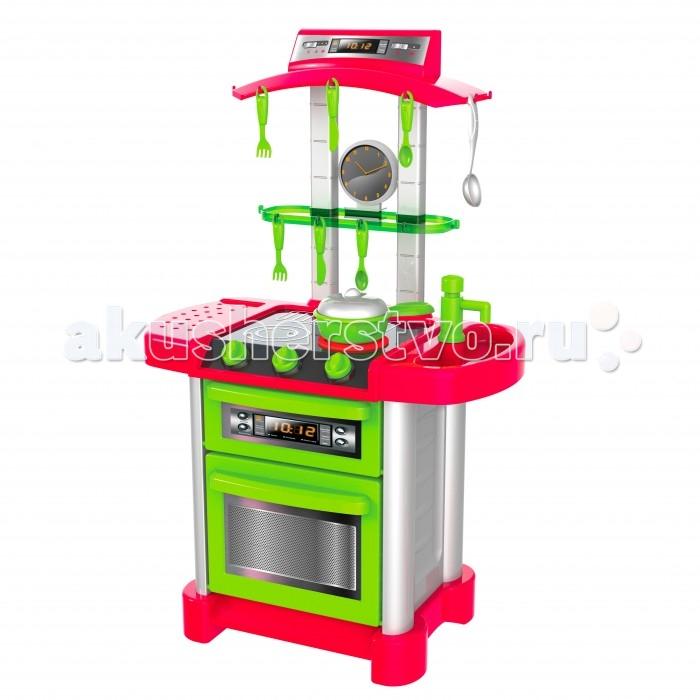 HTI Электронная кухня Смарт с аксессуарамиЭлектронная кухня Смарт с аксессуарамиHTI Электронная кухня Смарт с аксессуарами 1680957.00  Детская электронная кухня с подсветкой и звуками. 11 аксессуаров прилагаются. Открывающиеся дверцы. Работает от 3 батареек типа АА (в комплект не входят). 87 см в высоту.<br>