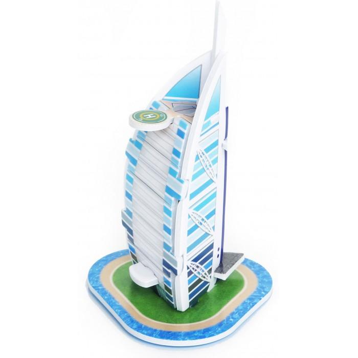 Пазлы IQ 3D пазл Бурдж Аль Араб пазлы crystal puzzle 3d головоломка вулкан 40 деталей