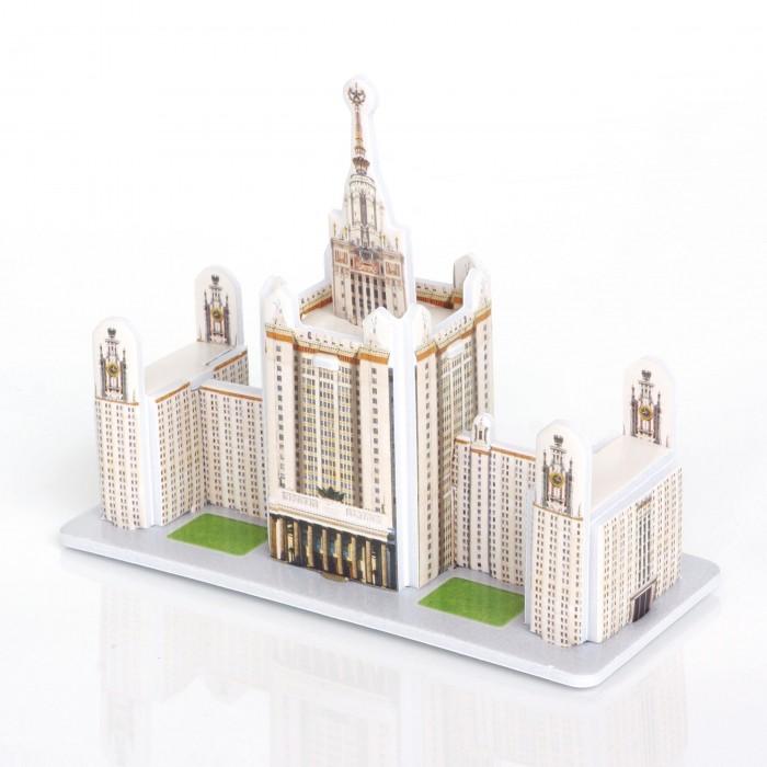 Пазлы IQ 3D пазл Главное здание МГУ пазлы iq 3d пазл пизанская башня