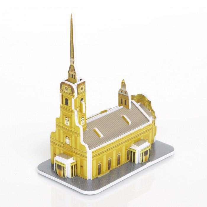 Пазлы IQ 3D пазл Петропавловская крепость пазлы iq 3d пазл спасская башня кремля