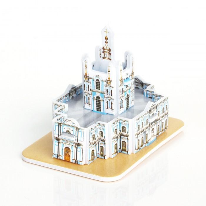 Пазлы IQ 3D пазл Смольный монастырь пазлы iq 3d пазл смольный монастырь