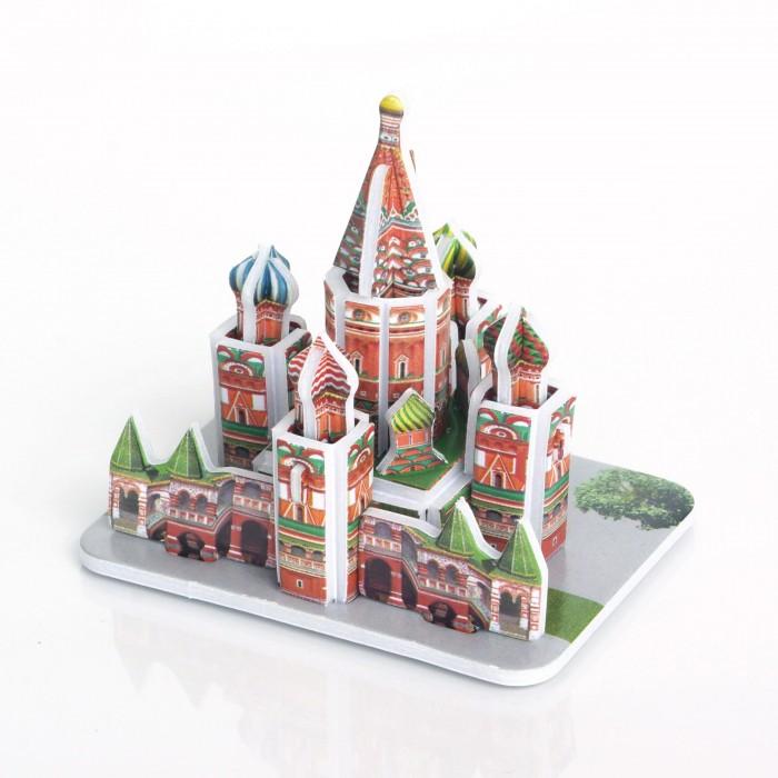 Пазлы IQ 3D пазл Собор Василия Блаженного пазлы iq 3d пазл смольный монастырь