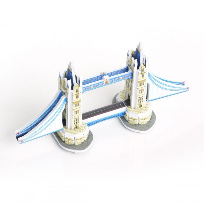 Пазлы IQ 3D пазл Тауэрский мост пазлы crystal puzzle 3d головоломка вулкан 40 деталей