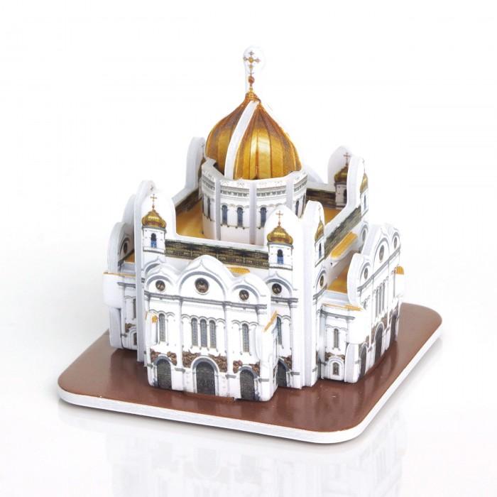 Пазлы IQ 3D пазл Храм Христа Спасителя пазлы crystal puzzle 3d головоломка вулкан 40 деталей