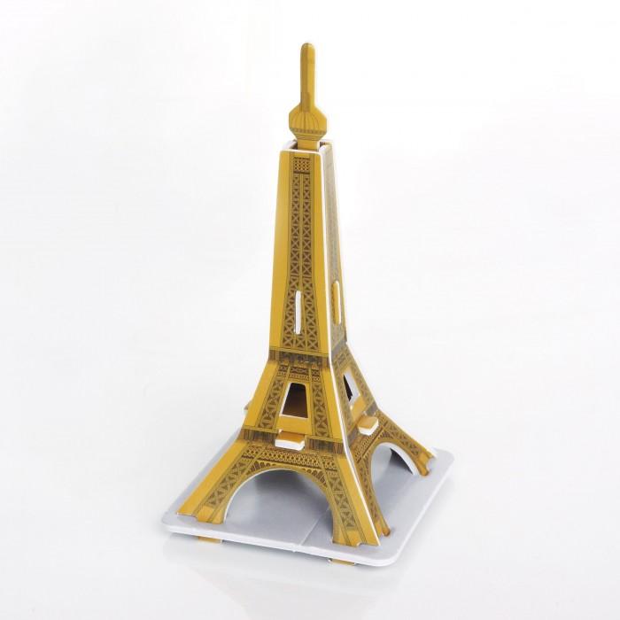Пазлы IQ 3D пазл Эйфелева Башня конструкторы cubicfun 3d пазл эйфелева башня 2 франция