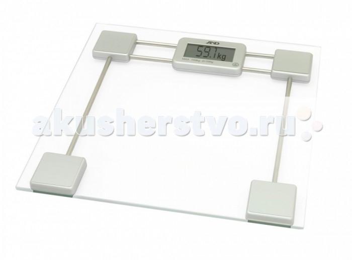 Детские весы A&amp;D электронные UC-200электронные UC-200Детские весы A&D электронные UC-200 прекрасно впишутся в дизайн Вашего дома и станут настоящим персональным тренером.  Особенности: Весы оснащены технологией сенсорного включения - для начала измерения достаточно просто встать на весы. Результат измерения показывается на дисплее в течение 6 секунд, затем весы автоматически отключаются. Максимальный вес - 150 кг, шаг измерения (дискретность) - 100 г.  Диапазон измерения веса 5-150 кг.  Платформа: высокопрочное стекло Максимальный вес:  150 кг Шаг измерения: 100 г Диапазон измерения веса: 5-150 кг Точное измерение веса благодаря современным сенсорам Учет коэффицента гравитации для России для более точных результатов измерения Технология сенсорного включения - для начала измерения достаточно просто встать на весы Автоматическое отключение Источник питания:  1 х 1,5 В CR2032<br>