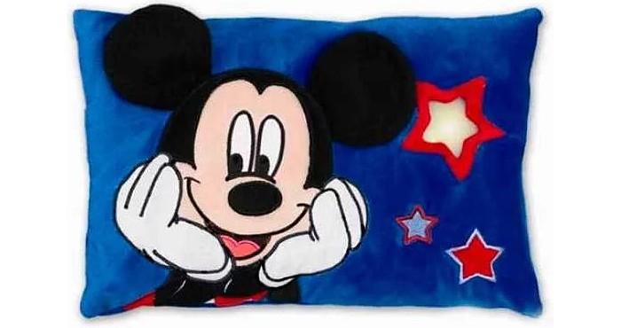 Подушки для малыша Disney Подушка светильник Микки игрушка для животных каскад удочка с микки маусом 47 см