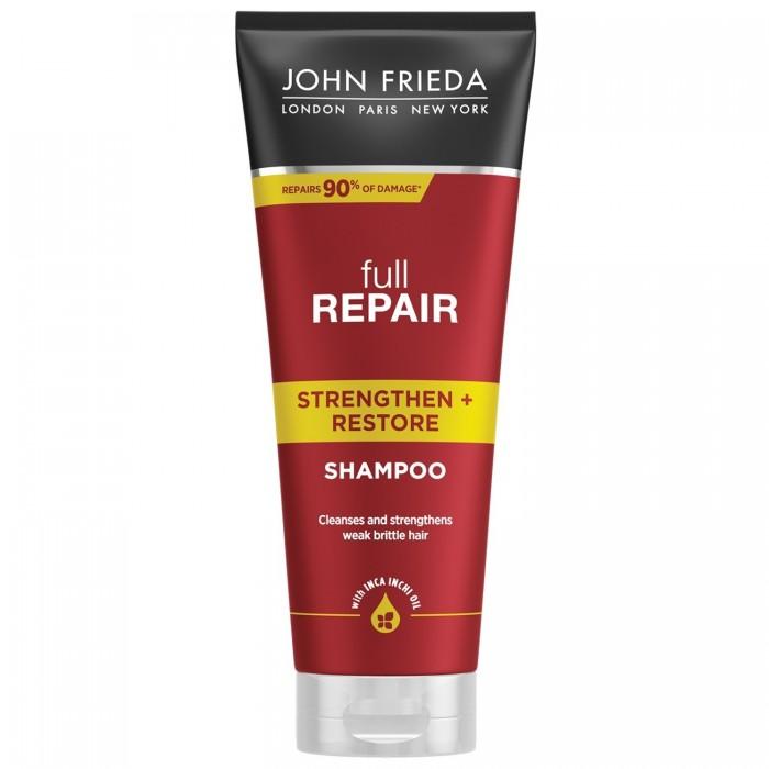 Косметика для мамы John Frieda Full Repair Шампунь для волос укрепляющий и восстанавливающий 250 мл восстанавливающий шампунь alter ego italy восстанавливающий шампунь