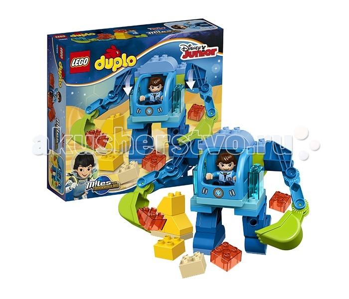 лего дупло гусеница Lego Lego Duplo 10825 Лего Дупло Экзокостюм Майлза