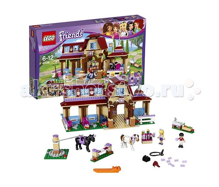 Lego Lego Friends 41126 Лего Подружки Клуб верховой езды конструктор lego friends кондитерская стефани 41308