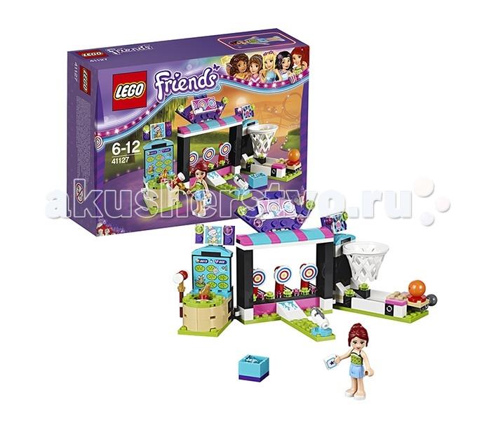 Lego Lego Friends 41127 Лего Подружки Парк развлечений: игровые автоматы конструктор lego friends 41129 парк развлечений фургон с хот догами