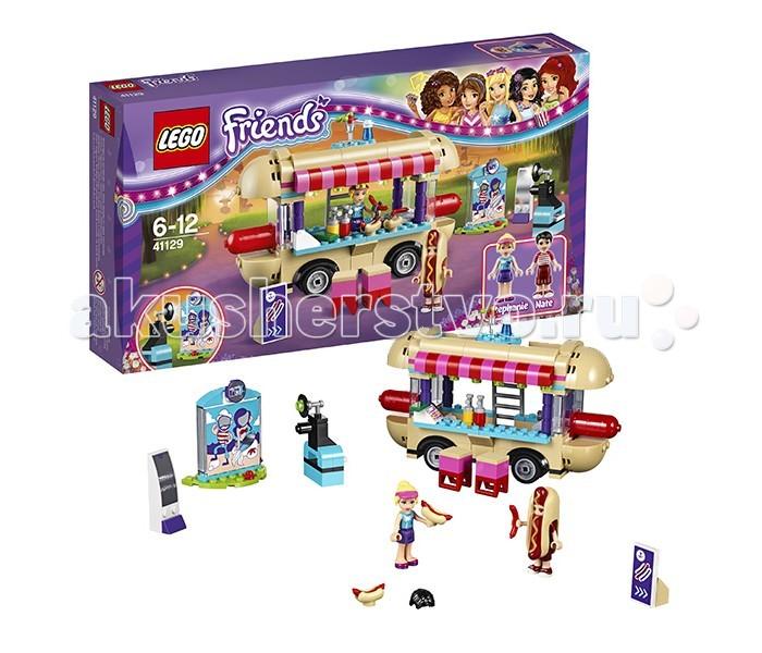 Lego Lego Friends 41129 Лего Подружки Парк развлечений: фургон с хот-догами