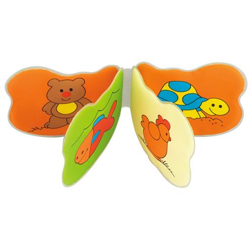 Игрушки для ванны Canpol Мягкая книжка-пищалка Животные 2/709