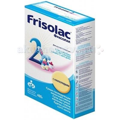 Молочные смеси Friso Заменитель Фрисолак с нуклеотидами 400 г 6-12 мес.(картон) молочные смеси semper молочная смесь nutradefense 1 0 6 мес 400 г