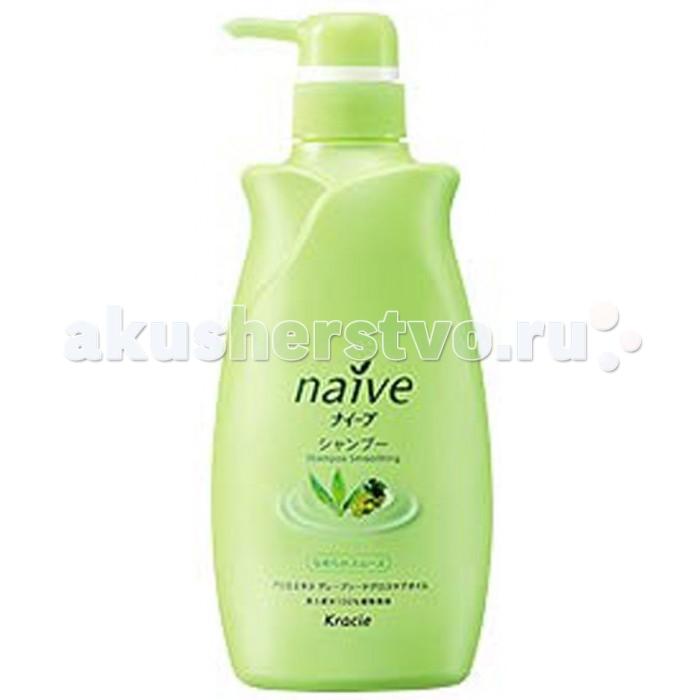 Косметика для мамы Kracie Naive Шампунь для волос с экстрактом Алоэ 550 мл