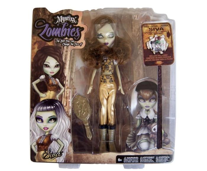 Куклы и одежда для кукол Mystixx Кукла Zombie Сива