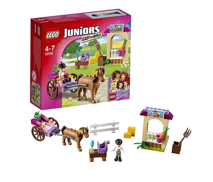 Lego Lego Juniors 10726 Лего Джуниорс Карета Стефани lego juniors 10739 лего джуниорс ниндзяго нападение акулы